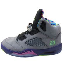 newest 57bad 3608d 621958-090 Air Jordan 5 Bel Air Cool Grey   Court Purple - Game Royal