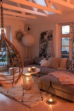 Best Living Room Design Ideas – My site Bohemian Bedroom Design, Bohemian Decor, Best Living Room Design, Living Room Designs, Cozy Nook, Home And Living, Rv Living, House Rooms, Cozy House