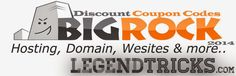 BigRock Discount Coupon Codes 2014   Today I am going to share Some BigRock Discount Coupons of 2014 which may help you. If you are thing to buy a domain or a web hosting you can use these. Bigrock is one of the best domain providing services ..