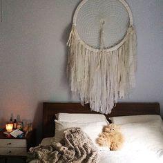 Dreamcatchers are back - Popular Tinker 2019 Teenage Girl Bedroom Decor, Girls Bedroom, Giant Dream Catcher, My Love, Instagram Posts, Dreamcatchers, Inspiration, Design, Home Decor