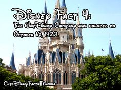 Cute Disney Facts. tHAT IS MY BIRTHDAY!!!! ( not the year though cuz I would b old, but I am not)