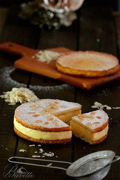 Sablé bretón con crema chiboust Pasta Sable, Palet Breton, Cake Recipes, Dessert Recipes, Torte Cake, Pan Dulce, Brownie Cake, Sweet Tarts, Recipe For 4