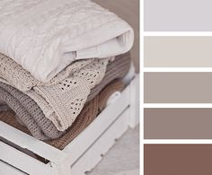 couleur taupe, rose Mountbatten, lin et gris perle en association harmonieuse
