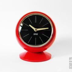 1973, Predom-Metron, zegar kominkowy Z 312, projektant nieznany.