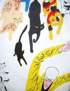 ¤ The Cat Thief by Joan Cass |  Illustration by William Stobbs