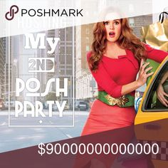 Hosting My 2nd Posh Party! So excited ladies! I have been asked to host my second Posh party! I cannot explain how fun the first one was and I am so honored to be able to do this again. Please help me spread the word by liking, tagging, and sharing. I will be getting a jumpstart on my host pics by thumbing through closets early. Please only tag me in posh compliant closets. Thanks and God bless!❤️😊 Michael Kors Other