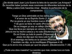 """""""Las Avispas"""" de Juan Luis Guerra."""
