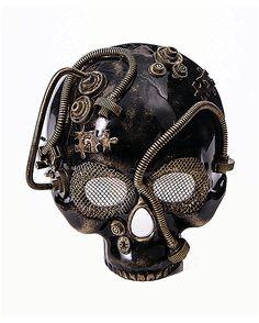 Steampunk Skull Mask - Spirithalloween.com