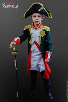 Купить или заказать костюм Наполеона-227 в интернет магазине на Ярмарке Мастеров. С доставкой по России и СНГ. Срок изготовления: 3 дня. Материалы: габардин. Размер: 86-146