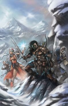 Pathfinder Iconic Characters