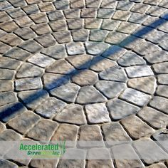 A paver circle kit (great for patios).  Pavers available in a wide variety of colors.