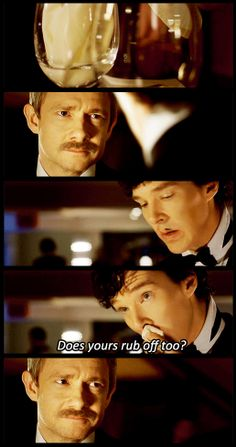 This part made me laugh too hard than I was suppose to xD but it also made me cringe a little because Sherlock just doesn't get it sometimes. He can be so insensitive. But he doesn't realize that - it's part of who he is, and that's why we, and Jawn, love him.