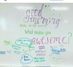 What Makes you Awesome Wednesday