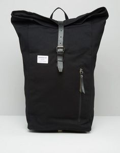 Sandqvist | Sandqvist Dante Rolltop Backpack In Black