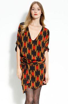 Diane von Furstenberg 'Edna' V-Neck Dress
