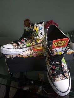 1040fb0c754 21 Best looney tunes hi tops sneakers  images in 2019