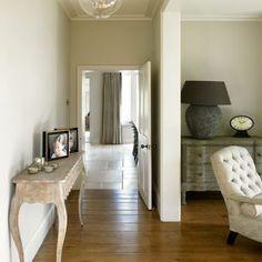 Cream and wood floor hallway | Hallway decorating ideas | 25 Beautiful Homes | Housetohome.co.uk
