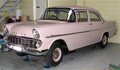 1961 Holden Special (EK) sedan (model 225) Pink Cars, General Motors, Old Cars, Showroom, Vintage Cars, Classic Cars, Automobile, Australia, Trucks