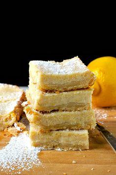 Vegan Lemon Bars taste so good you won't even know they're vegan!