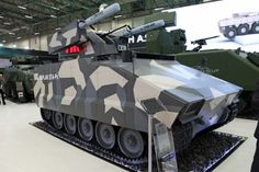 FNSS Kaplan with anti air and anti tank system 20 mm gun remote turret