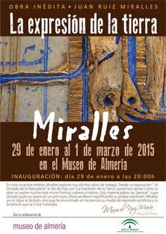 """""""La expresión de la tierra"""" obra inédita de Juan Ruiz Miralles. Inauguramos el próximo 29 de enero a las 20:00 h. ¡Te esperamos!"""