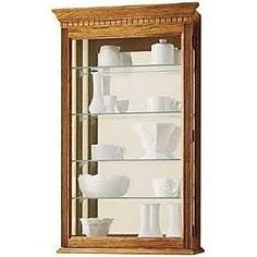 Howard Miller 685106 Montreal Wall Display Curio Cabinet