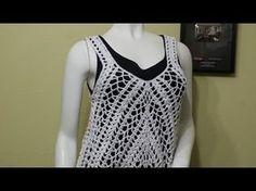 Blusa puntada de cocodrilo el mejor regalo para mamá fácil y rápido - tejiendo con Laura Cepeda - YouTube
