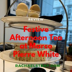 Festive Afternoon Tea at Marco Pierre White - review