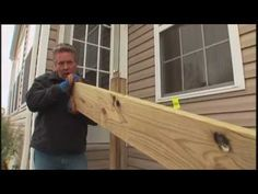 How to Build a Deck Part 3 of 6 - Setting the Posts
