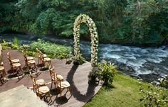 Bali Wedding Ceremony Set Up Inspiration