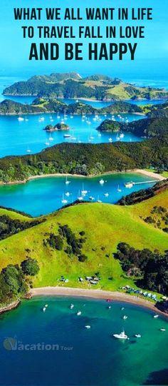 Urupukapuka Island (in the Bay of Islands) New Zealnd. #beautiful #travel #tours #destination #place #world #amazing.