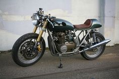 Beautiful CB cafe #motorcycles