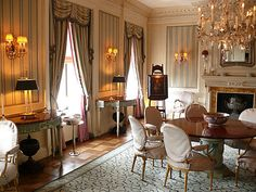 The Paris apartment of Susan Gutfreund by Henri Samuel