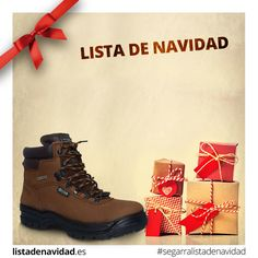 Calzado trekking Lista de Navidad #calzadossegarra #listadenavidad #navidad #regalos #moda #tendencia #calzadosafari #calzadotendencia #militar #tactico #seguridad #policia #montaña #montañismo #trekking