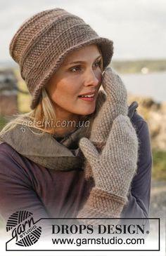 Боснийское вязание. Шляпа и варежки крючком. Описание вязания