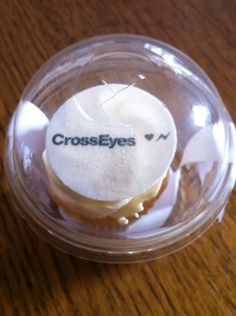 #Valentines #Blogger #Event blogger treat: #CrossEyes cup cake in a pod!