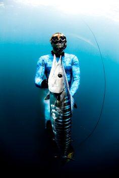 Blue Water Spearfishing Wahoo