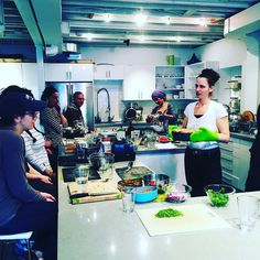 Nothing like a vegan cooking class with chef Doris Fin to hone my chef skills