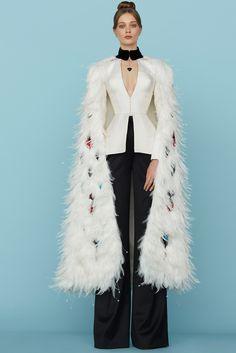 Ulyana Sergeenko Spring 2015 Couture - Look 4 of 36