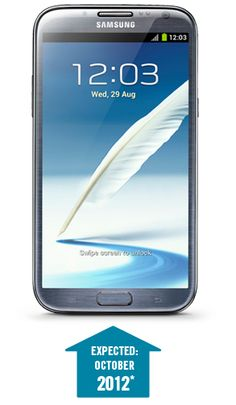 The Samsung Galaxy Note II is coming soon to Carphone Warehouse.