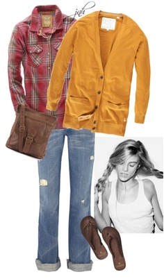 """""""layered tops + rolled sleeves"""" by jill-hammel on Polyvore"""