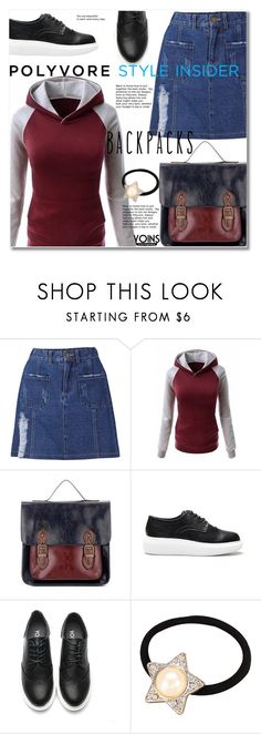 """Rule School: Cool Backpacks"" by svijetlana ❤ liked on Polyvore featuring backpacks, contestentry and PVStyleInsiderContest"