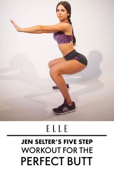 Jen Selter shows us the easiest five step workout to a Kardashian-worthy behind.