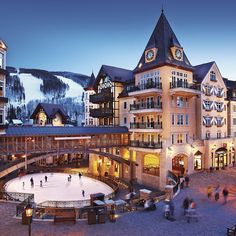 putting this on my list of places to visit...  vail colorado snowboarding