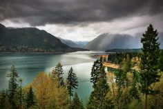 Lake Cushman, Hoodsport, Wa. Was here yesterday and it was gorgeous!