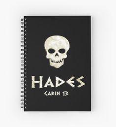 Cabin 13- Hades Cuaderno de espiral