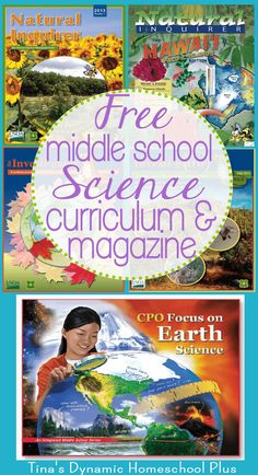 Free Middle School Science Curriculum and Magazine