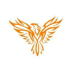 Phoenix tatoo by ZEROsilencer on DeviantArt Tribal Phoenix Tattoo, Small Phoenix Tattoos, Phoenix Tattoo Design, Tribal Tattoos, Small Tattoos, Simple Phoenix Tattoo, Phoenix Design, Eagle Tattoos, Delicate Tattoo