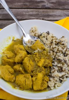 Kreolisches Hähnchencurry Vindaloo - Katha-kocht!