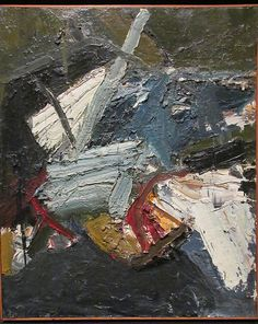 Joan Brown. Brambles, 1957. Oil on canvas. Oakland Museum
